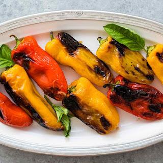 Mozzarella Stuffed Sweet Mini Peppers