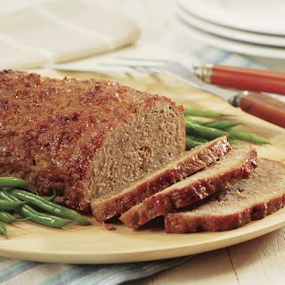Peach-Glazed Pork Loaf.