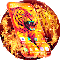 Tiger Live Wallpaper & Animated Keyboard icon
