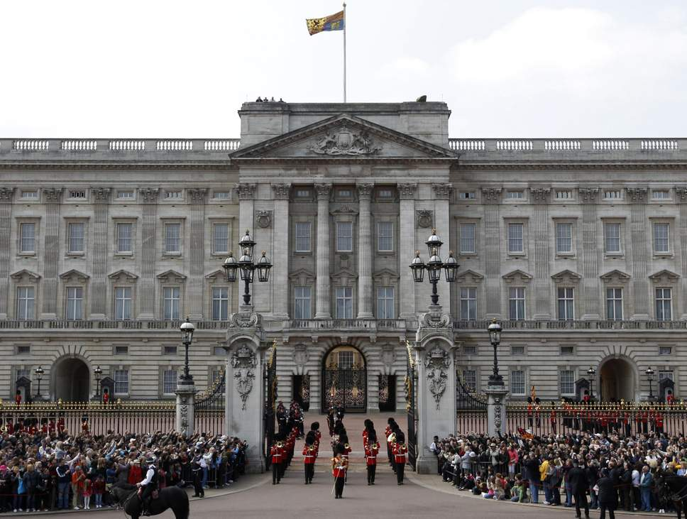The Buckingham Palace. Source: Independent