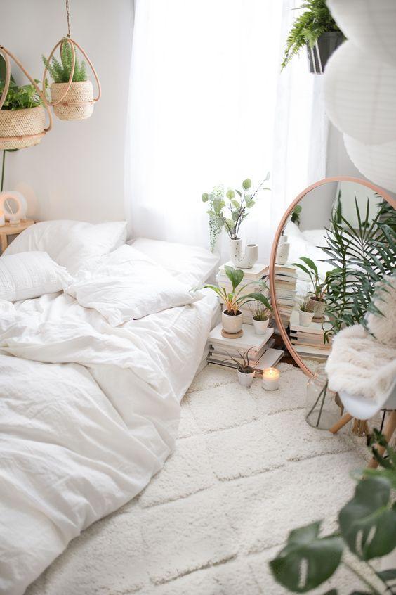 Tropical Scandinavian Bedroom Ideas