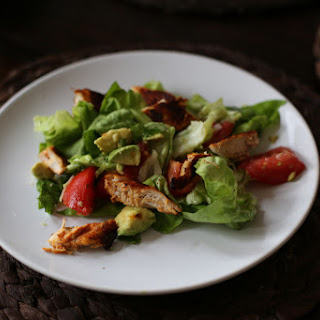 Paprika Chicken Salad with Tomatoes + Avocado.