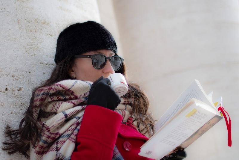 Sciarpa soffice e calda per il gelo invernale di adimar