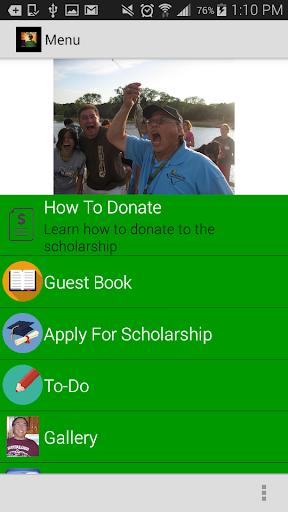 Zeke Castro Scholarship
