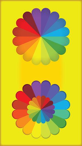 幼児のランダムな色スピナー