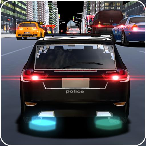 RC City Police Heavy Traffic Racer