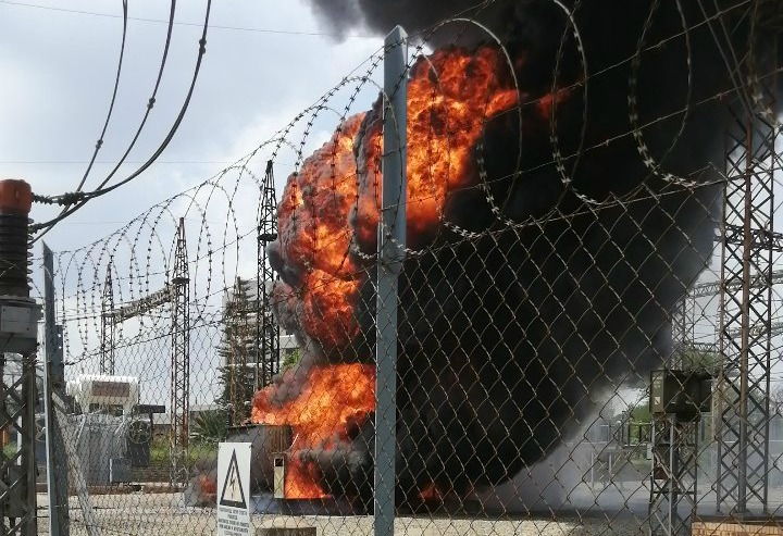 Ekurhuleni customers hit as Eskom transformer catches alight