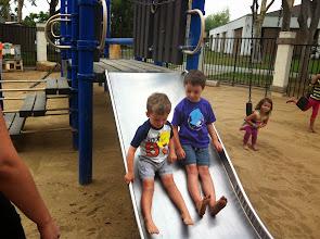 Photo: Brothers at PreSchool