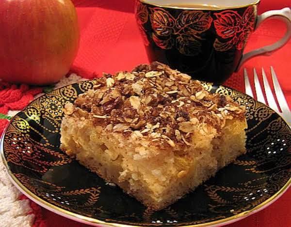 Kim's Inspiration Apple Sour Cream Cake, Diabetic Recipe