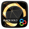Black Gold Go Launcher Theme APK