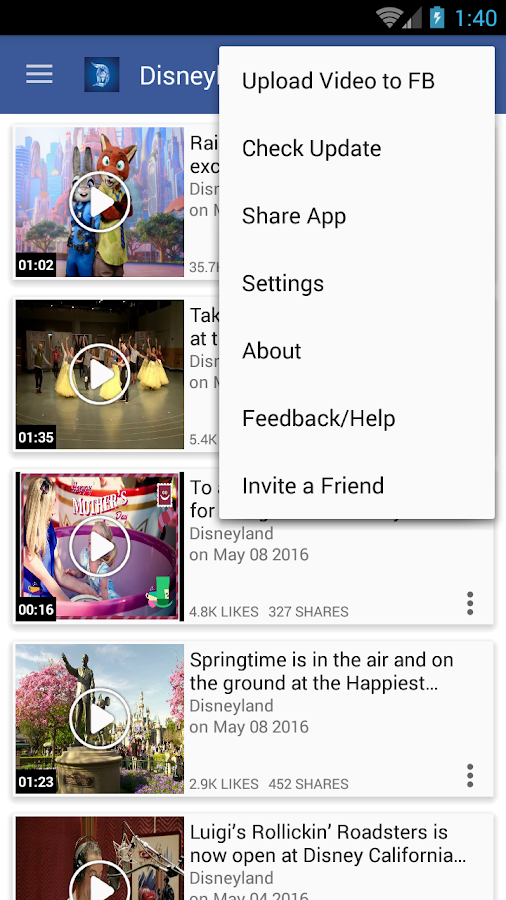 Just Video Feeds for- Facebook- screenshot