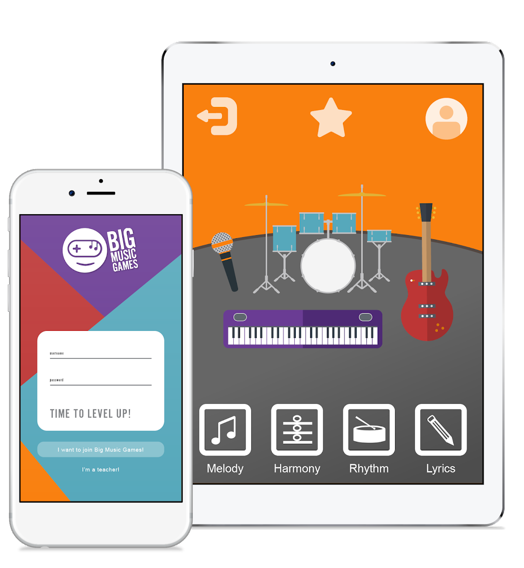 big music games app