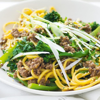 Beef and Broccolini Noodle Stir-Fry Recipe