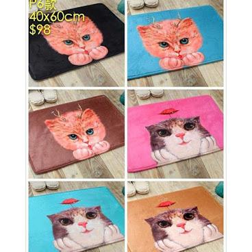 貓星人狗星人防滑地毯 準備好尖叫未呀?呢到咁多款地毯張張都靚到咁,好難揀!真係張張都想帶番屋企呀! (圖中價錢已包平郵,歡迎pm我地專頁查詢訂購,謝謝!) Fb: https://www.facebook.com/pages/Oh-My-Cats/1484461011854135  Whatsapp:54045977  #cat #shoes #lady #貓奴 #cats #beauty #clothes #hongkong #pet #pets #paws #animal #buy #funny #dog #cute #meow #furry #purr #喵 #貓貓 #bag #貓咪 #jacket#top#skirt#lovely#貓星人#領養代替購買#唐貓