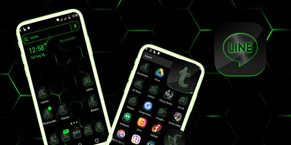 Cool Neon Green Launcher Theme – (Android Apps) — AppAgg