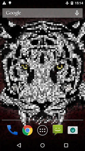 Pixel Tiger 라이브 배경화면