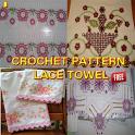 Crochet Pattern Lace Towel icon