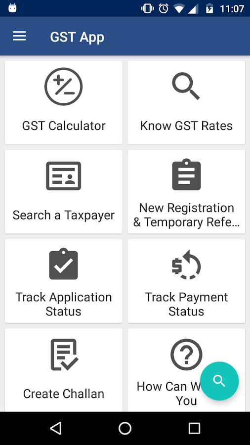 GST App - Verify, Tax Payers, Status & Rate Finder- screenshot