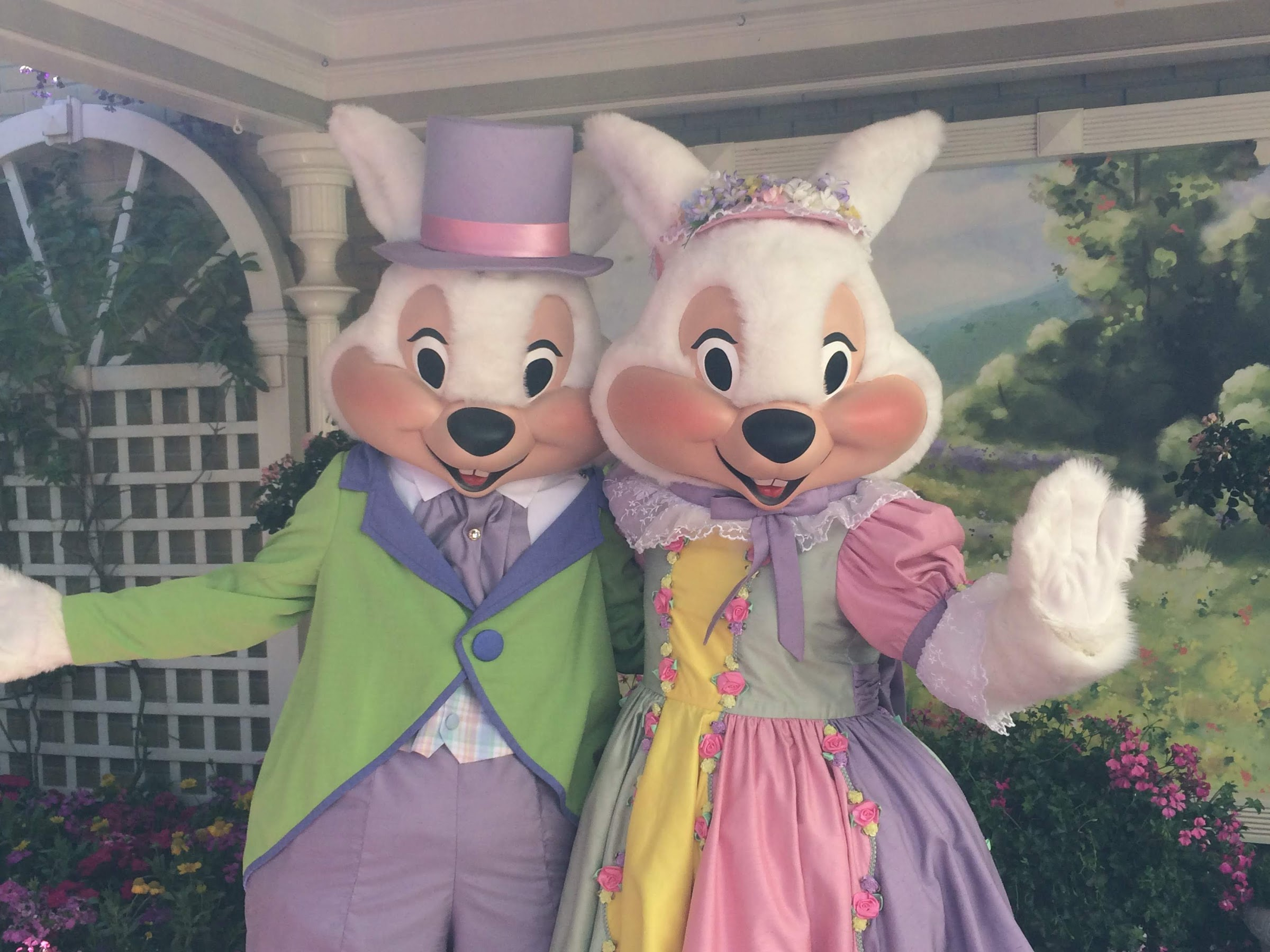 Meet the Easter Bunny at The Magic Kingdom