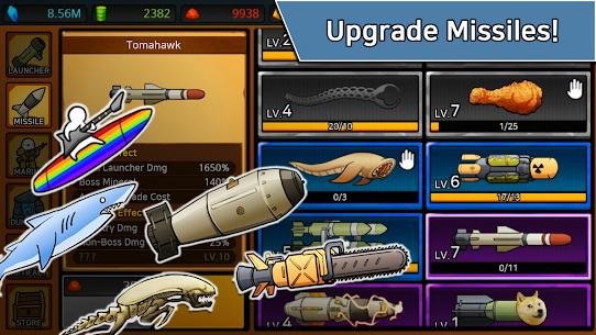 Missile Dude RPG: Tap Tap Missile MOD (Unlimited Uranium/Medal) 5