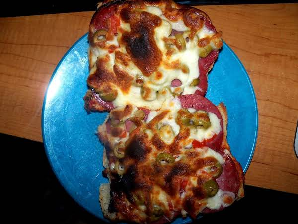 French Bread Pizza Dinner