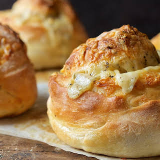 Gruyere-Stuffed Crusty Loaves.