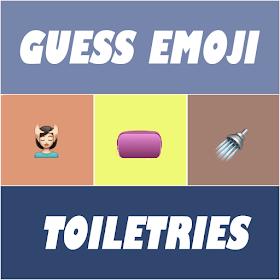 Guess Emoji : Toiletries