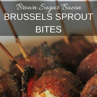 Brown Sugar Bacon Brussels Sprout Bites.