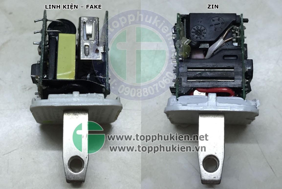 So sánh phụ kiện zin và fake cho iphone ipad - 4