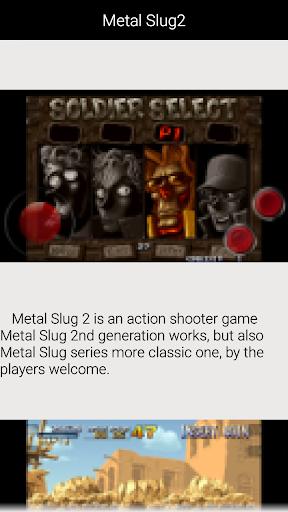 Guide for Metal Slug2 1.2.1 screenshots 1