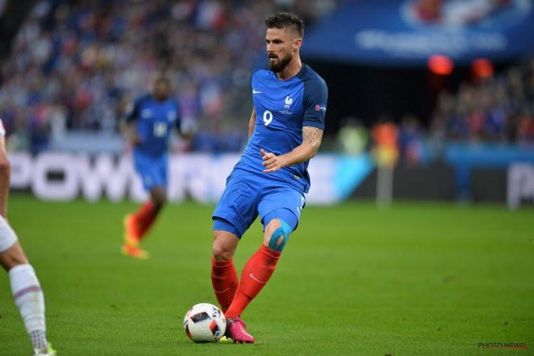 Giroud in top-3 Franse goalgetters