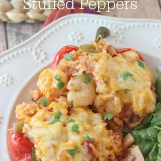 Shrimp Stuffed Bell Peppers.