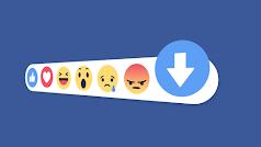 Parece que las reacciones de Facebook ya son más importantes que en persona.