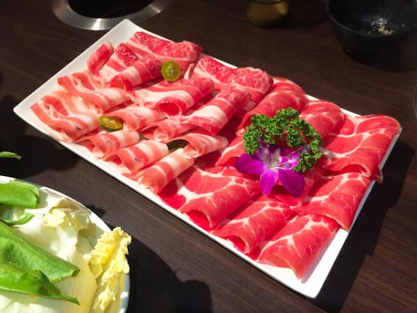 天鍋宴-台北芝山店 超豪華菜肉盤之飽到漫出來!- 而立姐