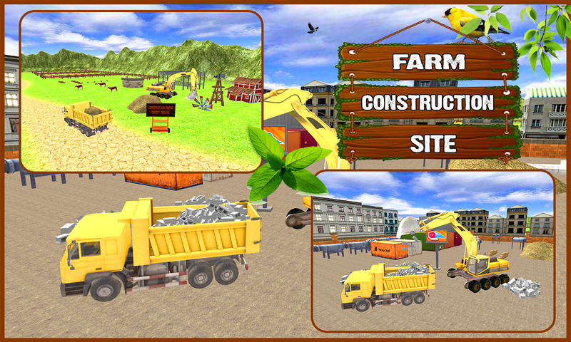 android Farm Construction Simulator Screenshot 2