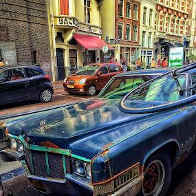 by Baks Berbl - City,  Street & Park  Street Scenes