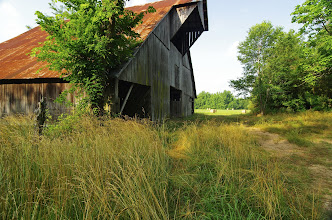 Photo: Barn near Erbie, Buffalo National River, Jones Farmstead