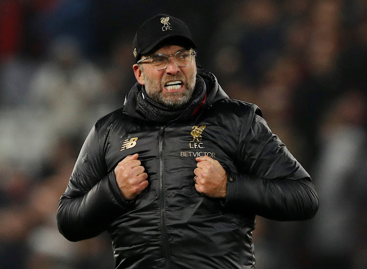 January 19, 2019 Liverpool manager Juergen Klopp. Picture: REUTERS / PHIL NOBLE