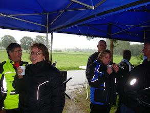 Photo: en Hanneke heeft het wel koud zo te zien!