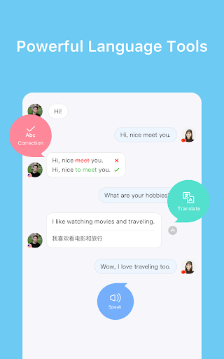 HelloTalk u2014 Chat, Speak & Learn Foreign Languages 3.6.7 screenshots 7