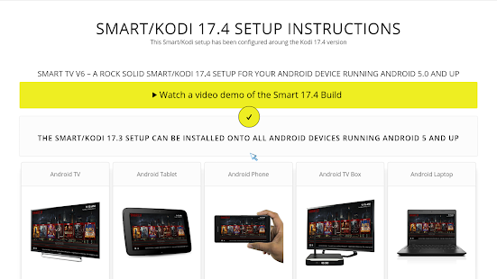 Smart Kodi Setup Wizard For Kodi 17.4 and 17.5 NEW - náhled