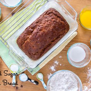 Reduced Sugar Banana Bread