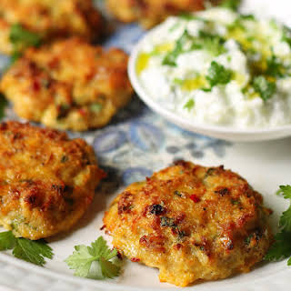 Oven Baked Healthier Fish Cakes.