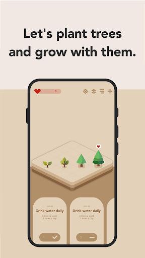 Habit Forest - Habit tracker, Plans, Goal tracker screenshots 2