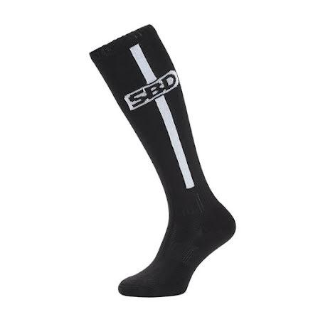 SBD Deadlift Socks, Black/White,
