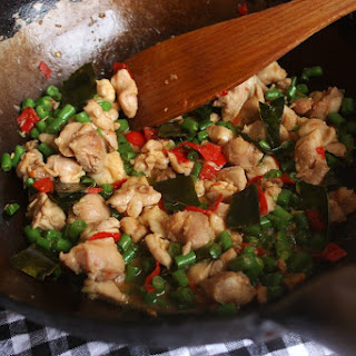 Chicken and Green Bean Chilli Stir Fry Recipe