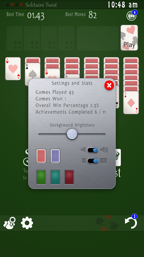 Solitaire Twist- screenshot