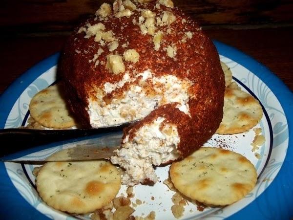 ~ Tasty Cheddar Cheese Ball ~ Recipe