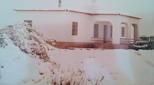 En Almócita también nieva