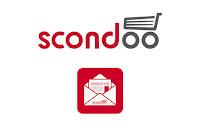 Angebot für Gewinnspiel Anmeldung Newsletter im Supermarkt - Scondoo